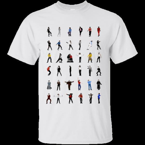 image 11 600x600 - Michael Jackson Dance Moves shirt