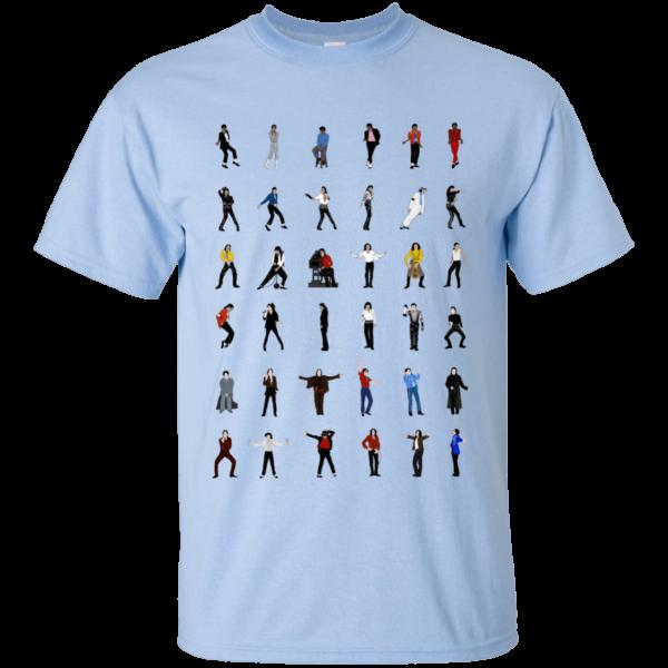image 12 600x600 - Michael Jackson Dance Moves shirt