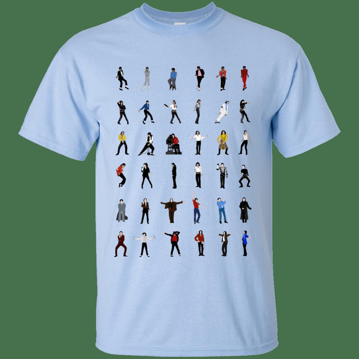 image 12 - Michael Jackson Dance Moves shirt