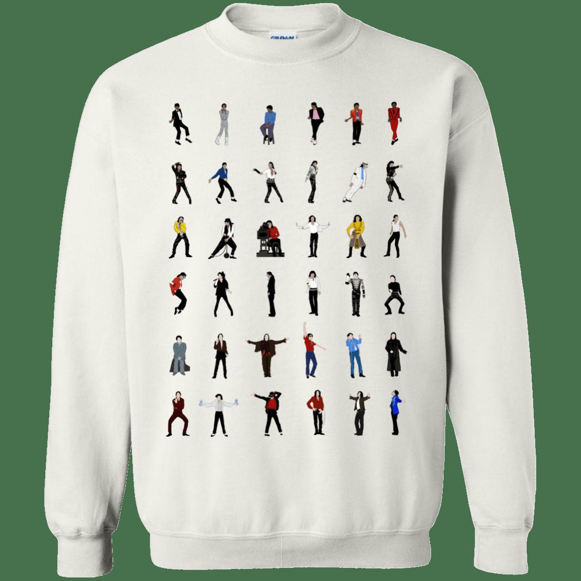 image 15 - Michael Jackson Dance Moves shirt