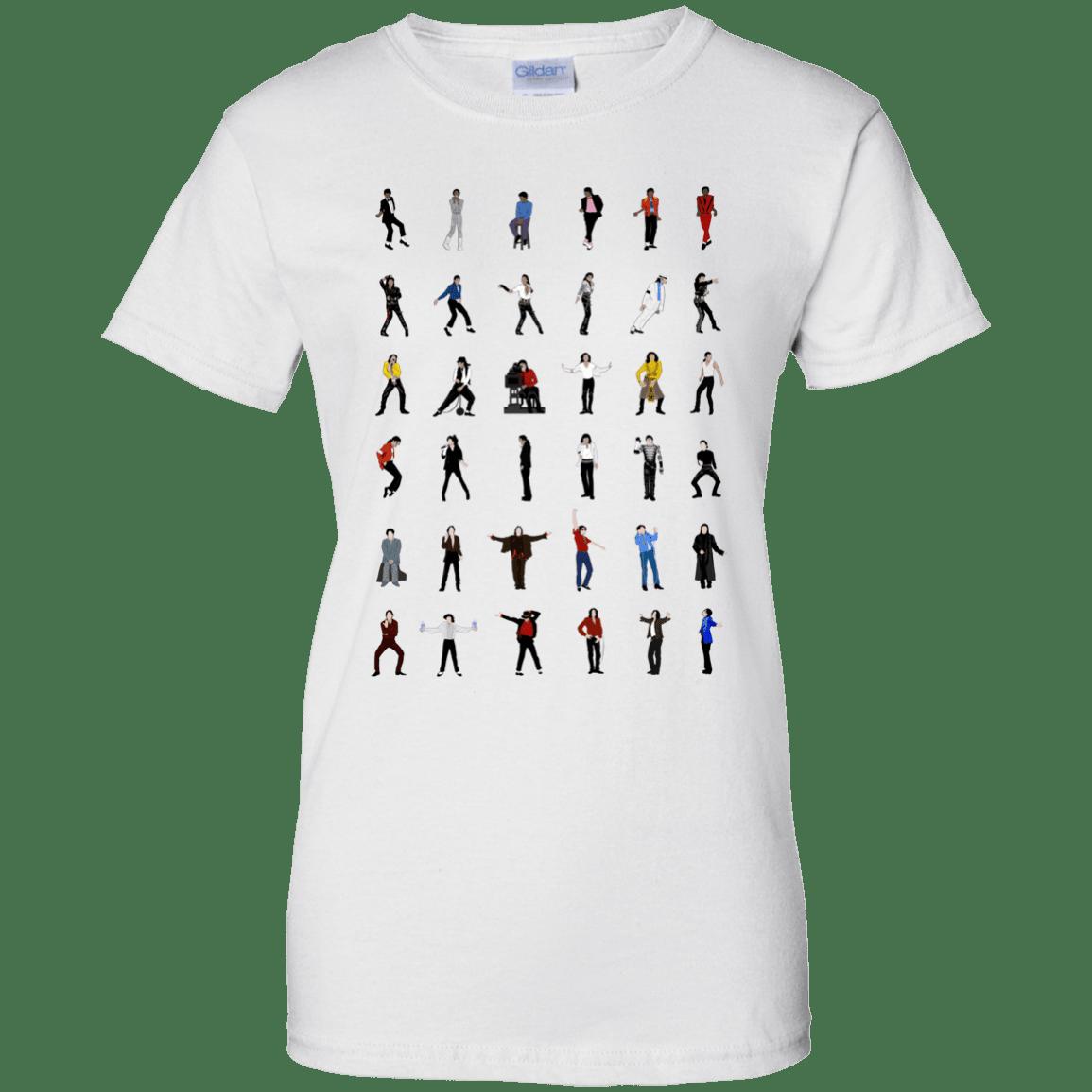image 17 - Michael Jackson Dance Moves shirt
