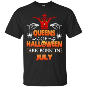 image 1024 300x300 - Queens of Halloween are born in July shirt, tank top, hoodie