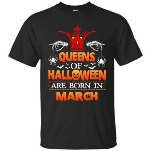 image 1076 300x300 - Queens of Halloween are born in March shirt, tank top, hoodie