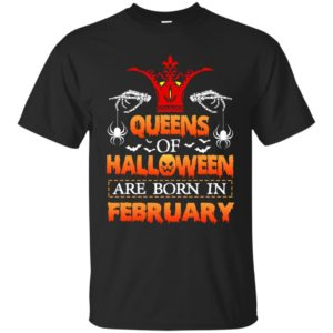 image 1166 300x300 - Queens of Halloween are born in February shirt, tank top, hoodie