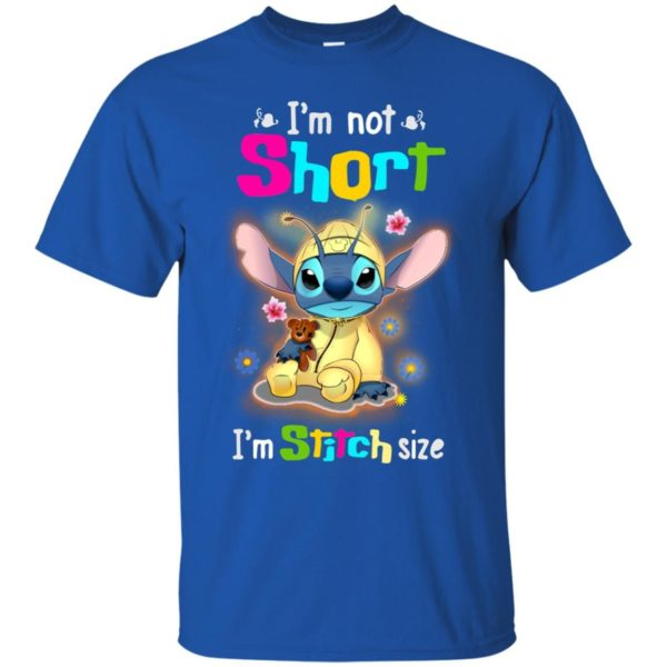 image 1220 600x600 - Stitch: I'm not short I'm Stitch size t-shirt, hoodie, tank
