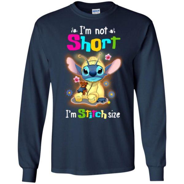 image 1223 600x600 - Stitch: I'm not short I'm Stitch size t-shirt, hoodie, tank