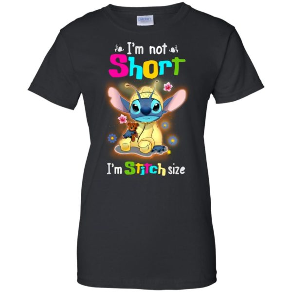 image 1230 600x600 - Stitch: I'm not short I'm Stitch size t-shirt, hoodie, tank