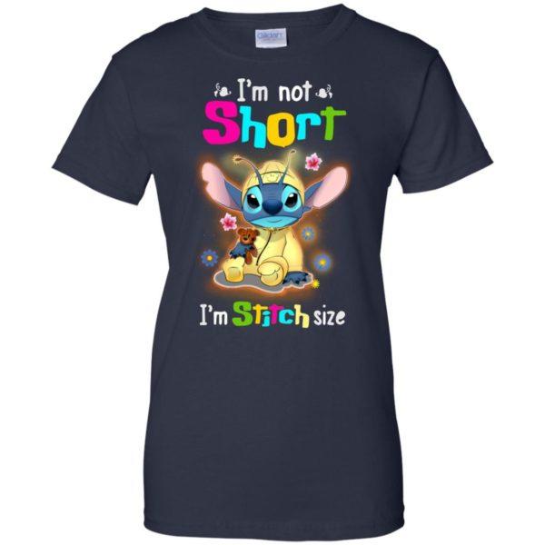 image 1231 600x600 - Stitch: I'm not short I'm Stitch size t-shirt, hoodie, tank