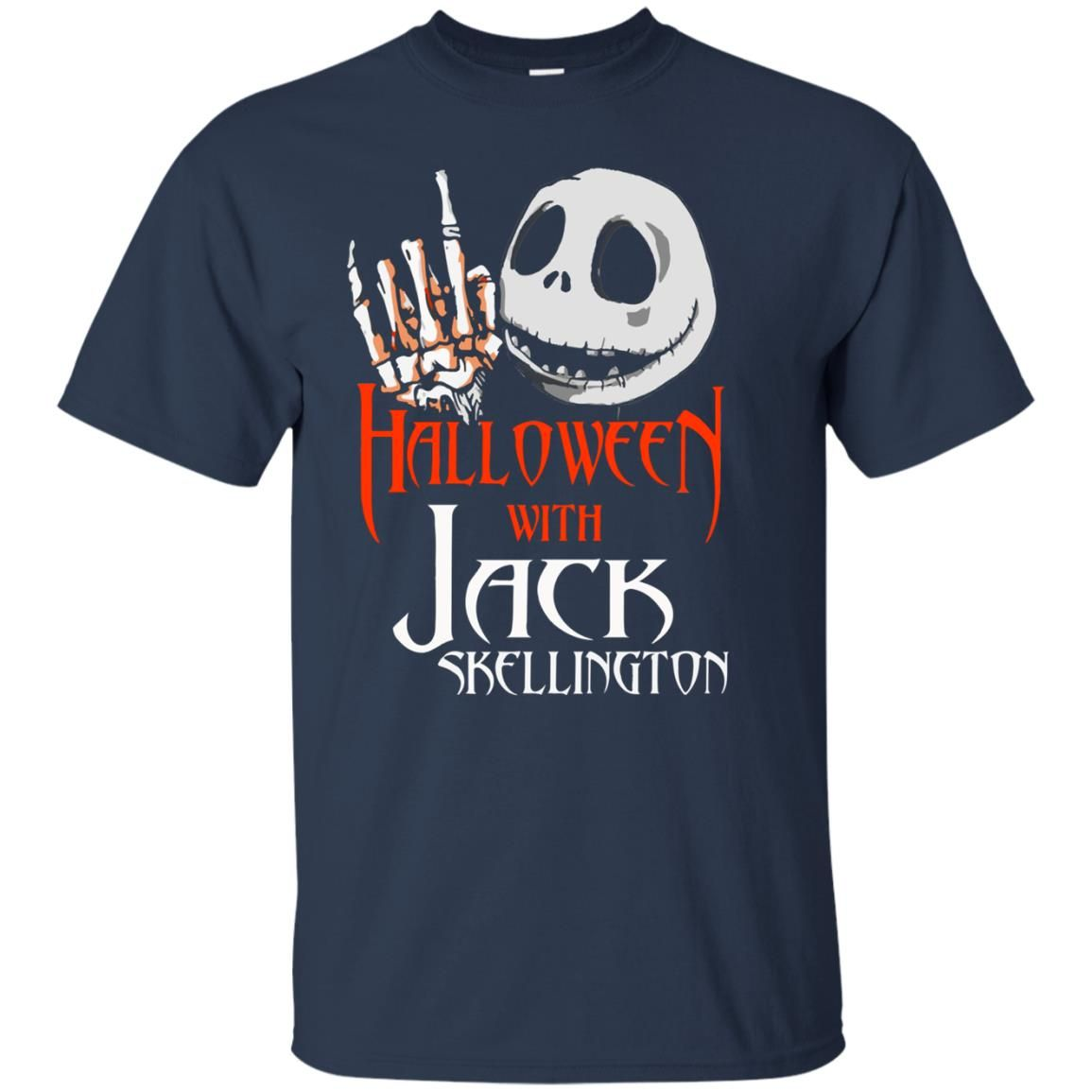 image 1377 - Halloween with Jack Skellington shirt, tank top, sweater