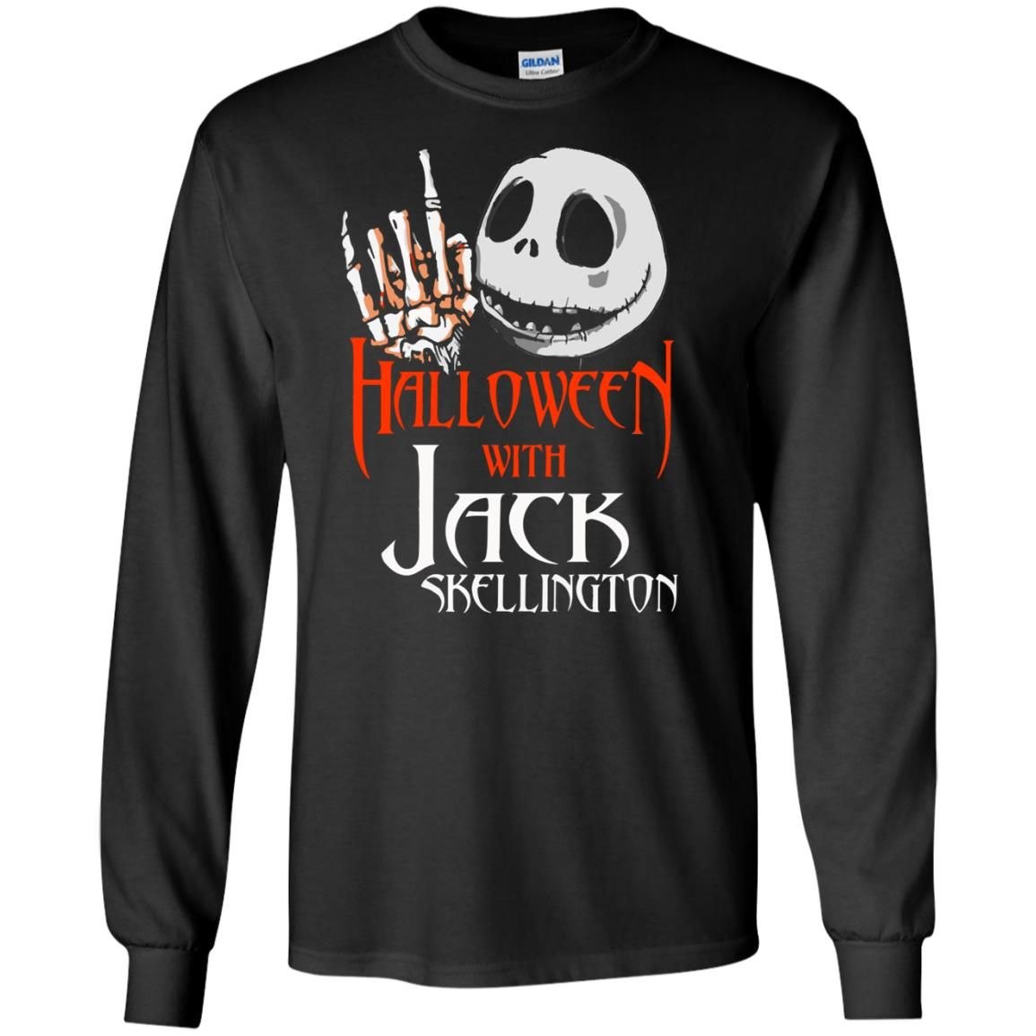 image 1378 - Halloween with Jack Skellington shirt, tank top, sweater