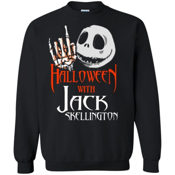 image 1382 600x600 - Halloween with Jack Skellington shirt, tank top, sweater