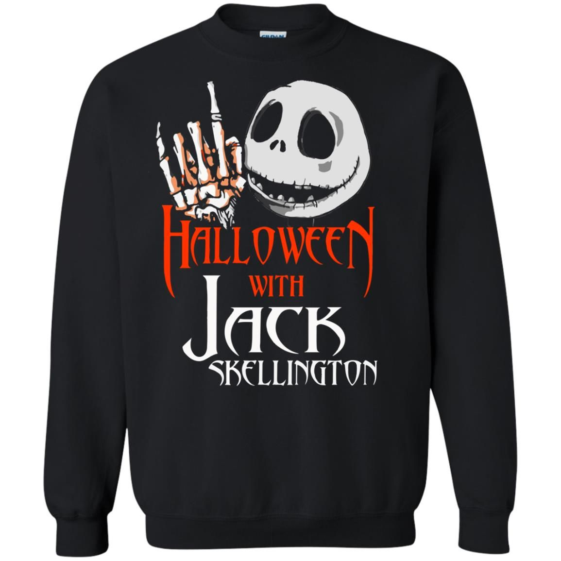 image 1382 - Halloween with Jack Skellington shirt, tank top, sweater
