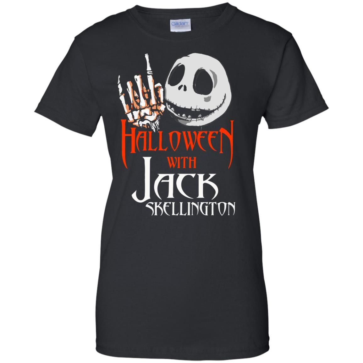image 1386 - Halloween with Jack Skellington shirt, tank top, sweater