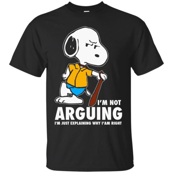 image 1388 600x600 - Snoopy: I'm not Arguing I'm just explaining why I'm right shirt, hoodie