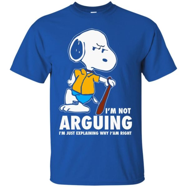 image 1389 600x600 - Snoopy: I'm not Arguing I'm just explaining why I'm right shirt, hoodie