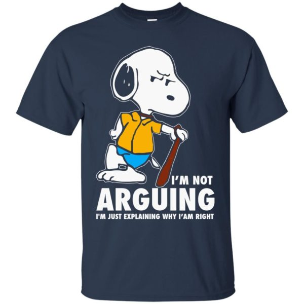 image 1390 600x600 - Snoopy: I'm not Arguing I'm just explaining why I'm right shirt, hoodie