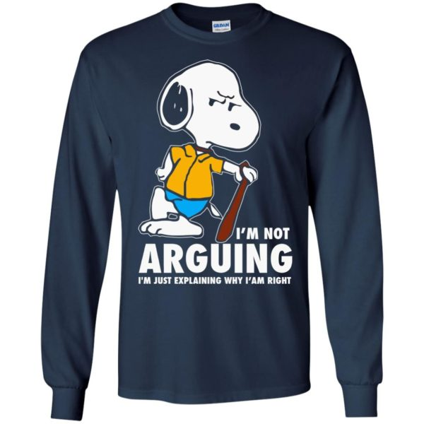 image 1392 600x600 - Snoopy: I'm not Arguing I'm just explaining why I'm right shirt, hoodie