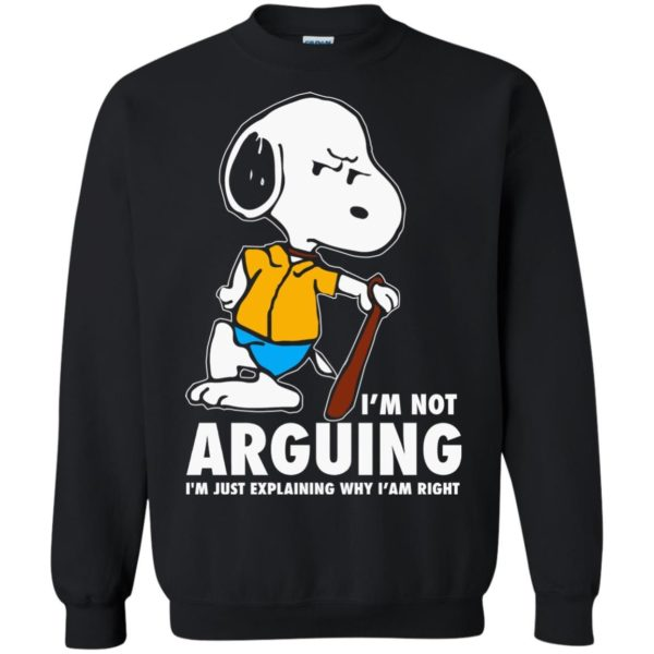 image 1395 600x600 - Snoopy: I'm not Arguing I'm just explaining why I'm right shirt, hoodie