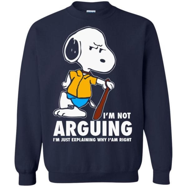 image 1396 600x600 - Snoopy: I'm not Arguing I'm just explaining why I'm right shirt, hoodie