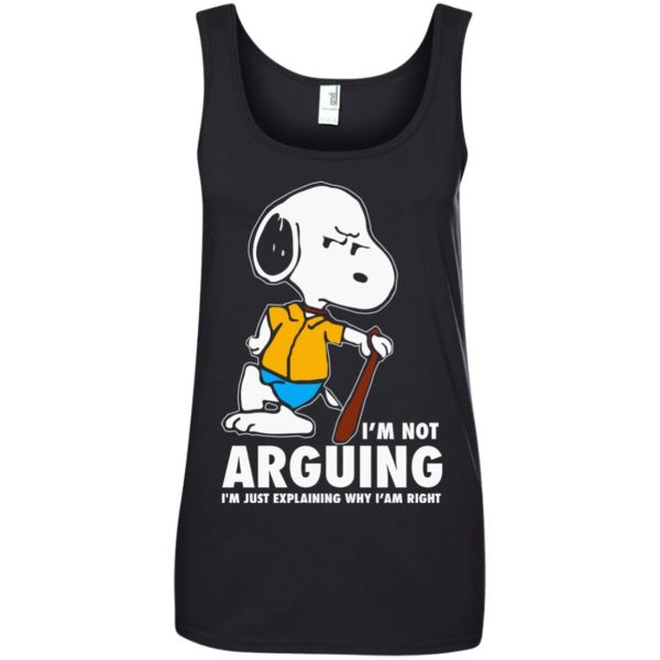 image 1397 600x600 - Snoopy: I'm not Arguing I'm just explaining why I'm right shirt, hoodie