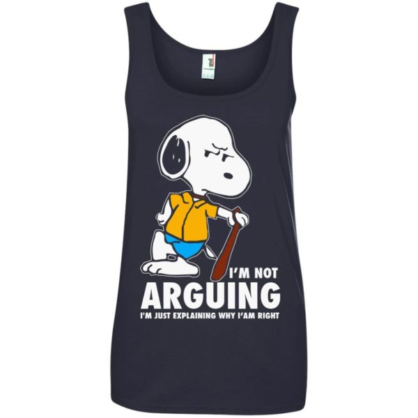 image 1398 600x600 - Snoopy: I'm not Arguing I'm just explaining why I'm right shirt, hoodie