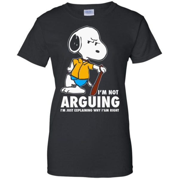image 1399 600x600 - Snoopy: I'm not Arguing I'm just explaining why I'm right shirt, hoodie
