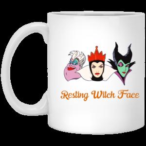 image 14 300x300 - Resting Witch Face mug: Funny mug for Halloween