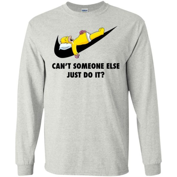image 1404 600x600 - The Simpsons: Can't someone eles just do it shirt, tank, hoodie