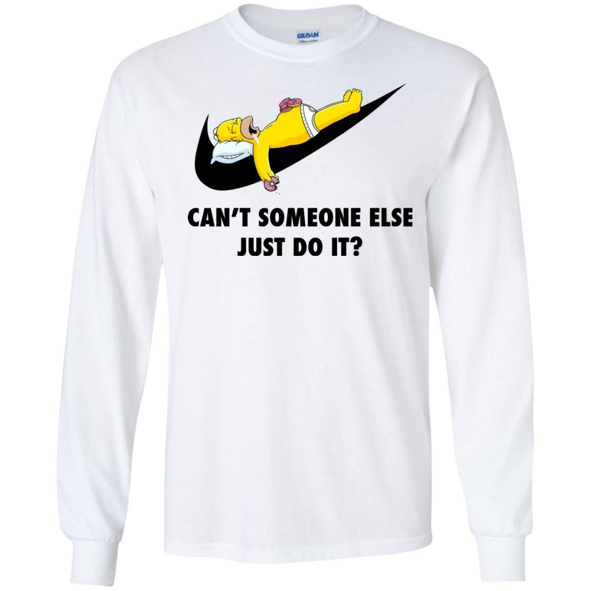 image 1405 - The Simpsons: Can't someone eles just do it shirt, tank, hoodie