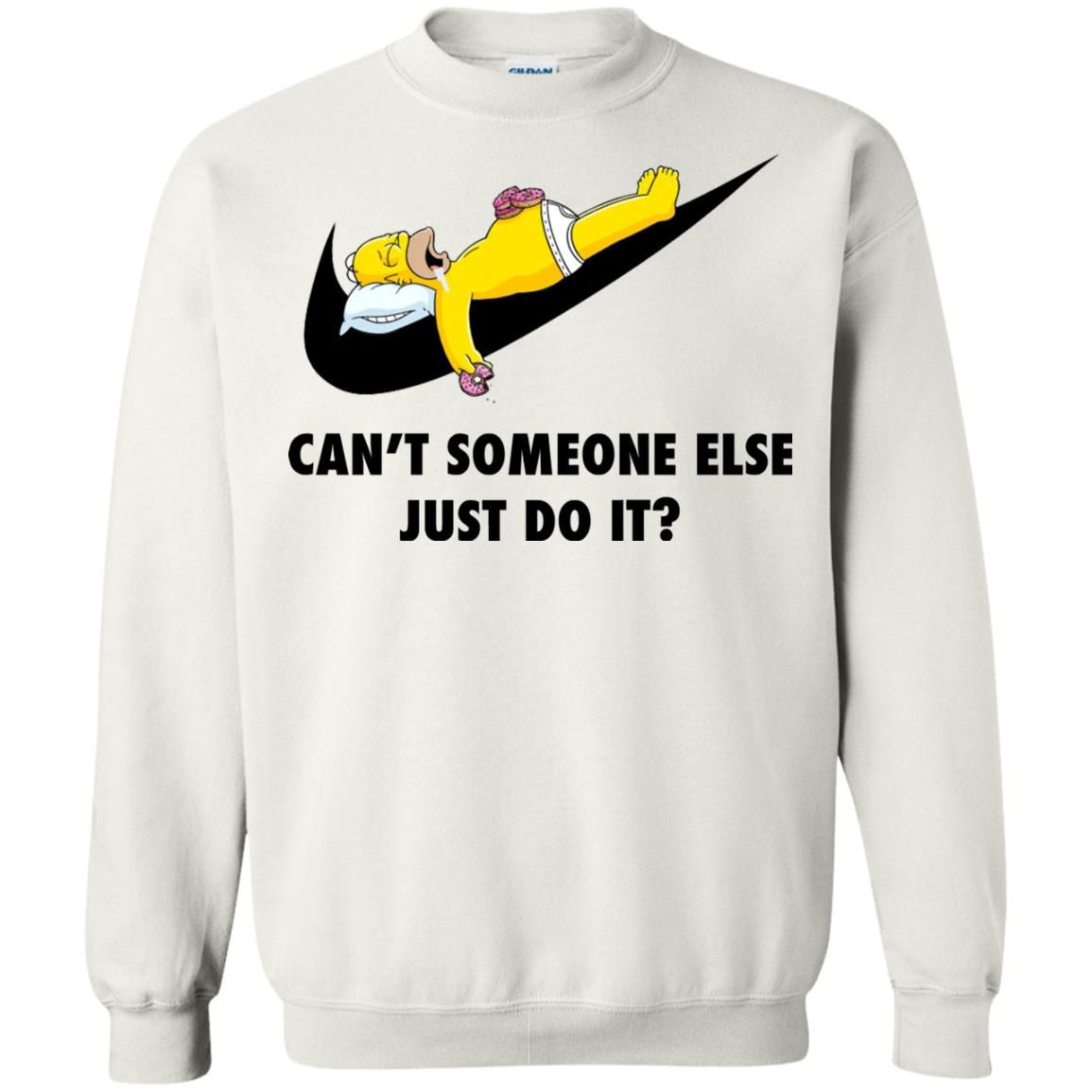image 1409 - The Simpsons: Can't someone eles just do it shirt, tank, hoodie
