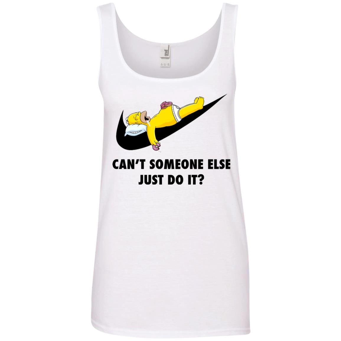 image 1411 - The Simpsons: Can't someone eles just do it shirt, tank, hoodie