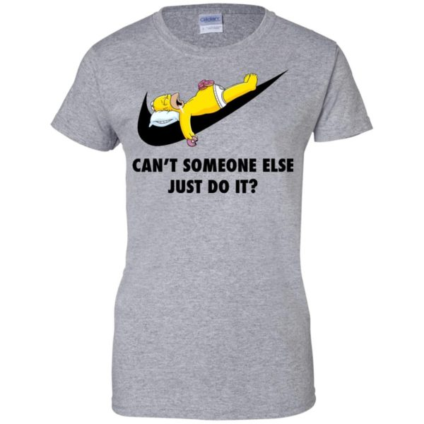 image 1412 600x600 - The Simpsons: Can't someone eles just do it shirt, tank, hoodie