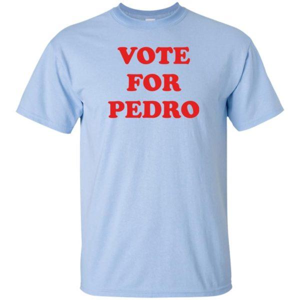 image 1464 600x600 - Napoleon Dynamite Vote for Pedro shirt