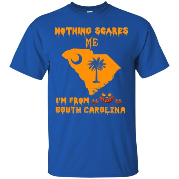 image 153 600x600 - Halloween: Nothing Scares Me I'm From South Carolina shirt, hoodie, tank
