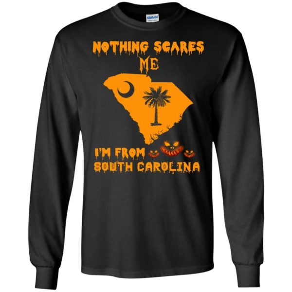 image 155 600x600 - Halloween: Nothing Scares Me I'm From South Carolina shirt, hoodie, tank