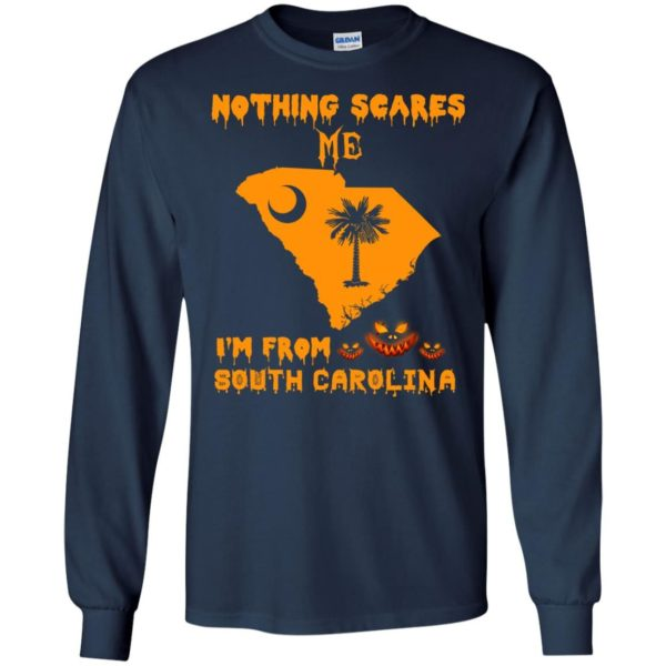 image 156 600x600 - Halloween: Nothing Scares Me I'm From South Carolina shirt, hoodie, tank