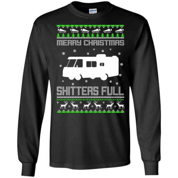 image 1565 600x600 - Christmas Vacation: Merry Christmas Shitter's full ugly sweater, hoodie