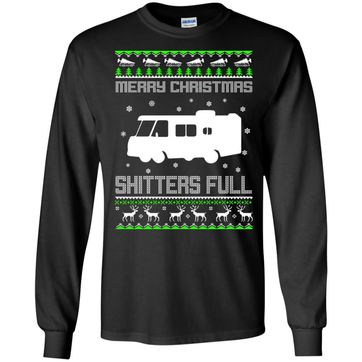 image 1565 - Christmas Vacation: Merry Christmas Shitter's full ugly sweater, hoodie
