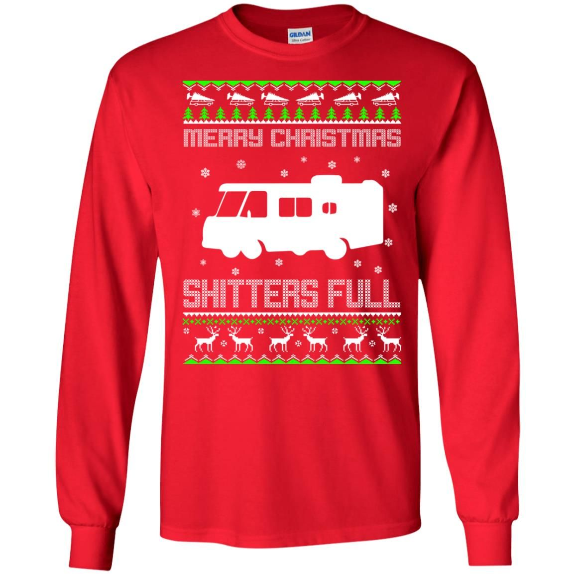 Christmas Vacation Merry Christmas Shitters Full Ugly Sweater