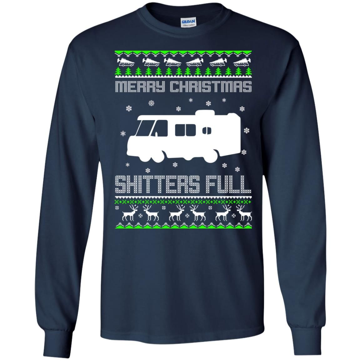 image 1567 - Christmas Vacation: Merry Christmas Shitter's full ugly sweater, hoodie