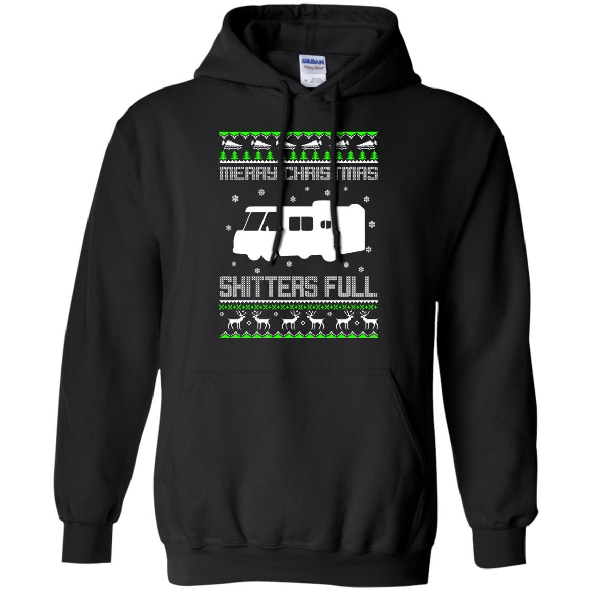 image 1568 - Christmas Vacation: Merry Christmas Shitter's full ugly sweater, hoodie