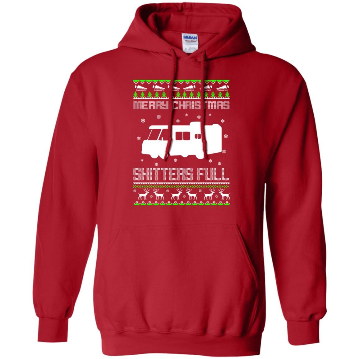 image 1570 - Christmas Vacation: Merry Christmas Shitter's full ugly sweater, hoodie