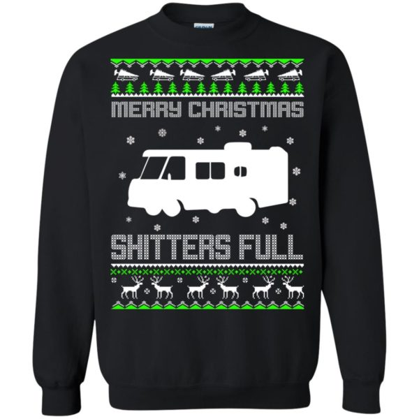 image 1571 600x600 - Christmas Vacation: Merry Christmas Shitter's full ugly sweater, hoodie