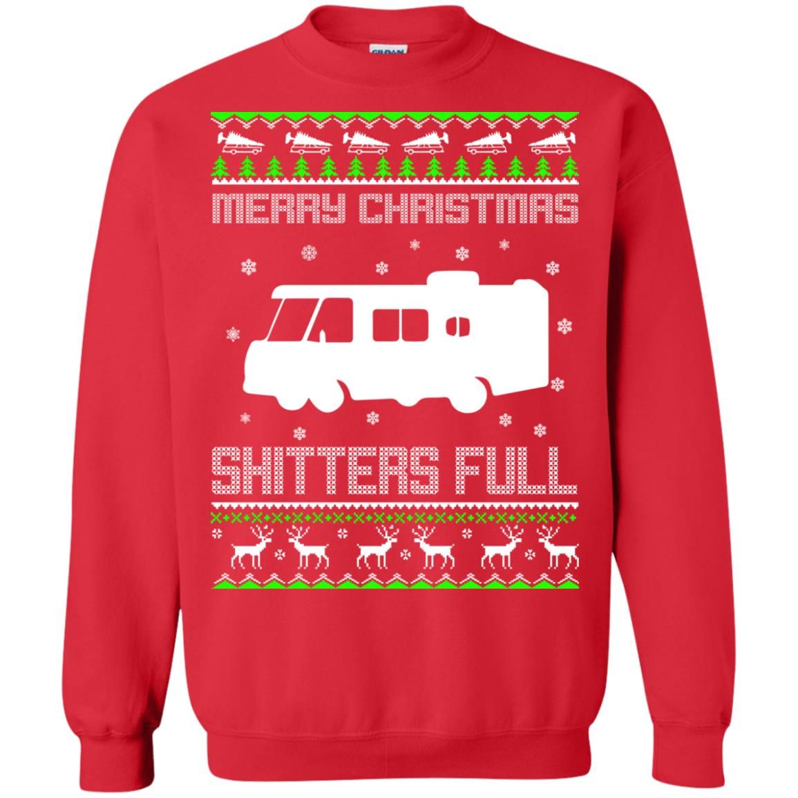image 1573 - Christmas Vacation: Merry Christmas Shitter's full ugly sweater, hoodie