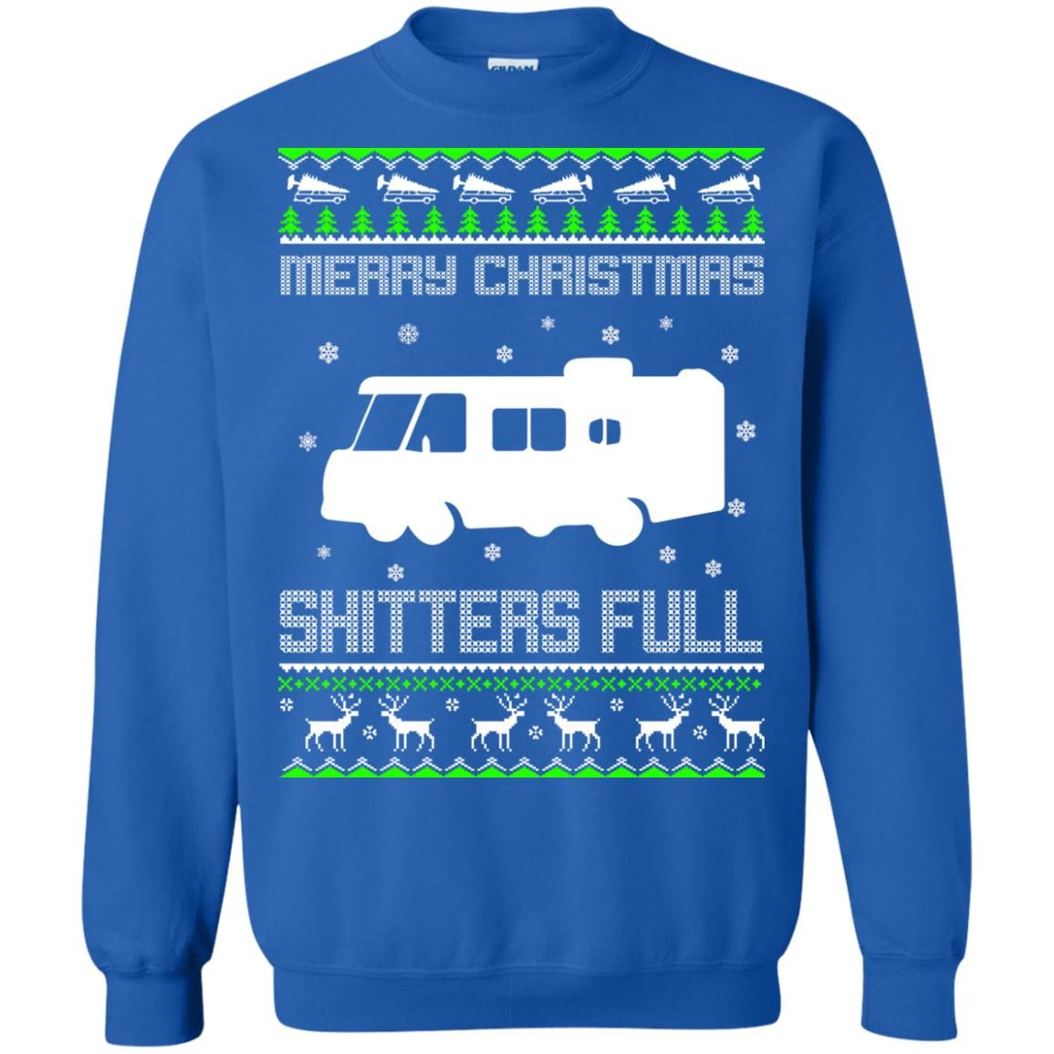image 1575 - Christmas Vacation: Merry Christmas Shitter's full ugly sweater, hoodie