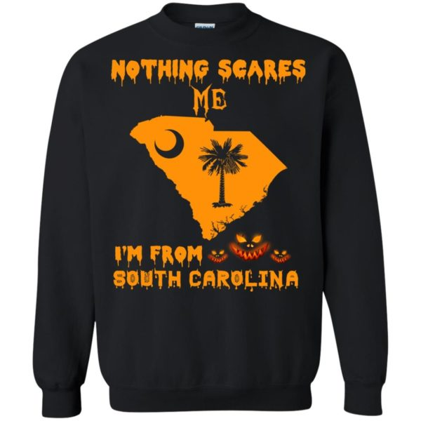 image 159 600x600 - Halloween: Nothing Scares Me I'm From South Carolina shirt, hoodie, tank
