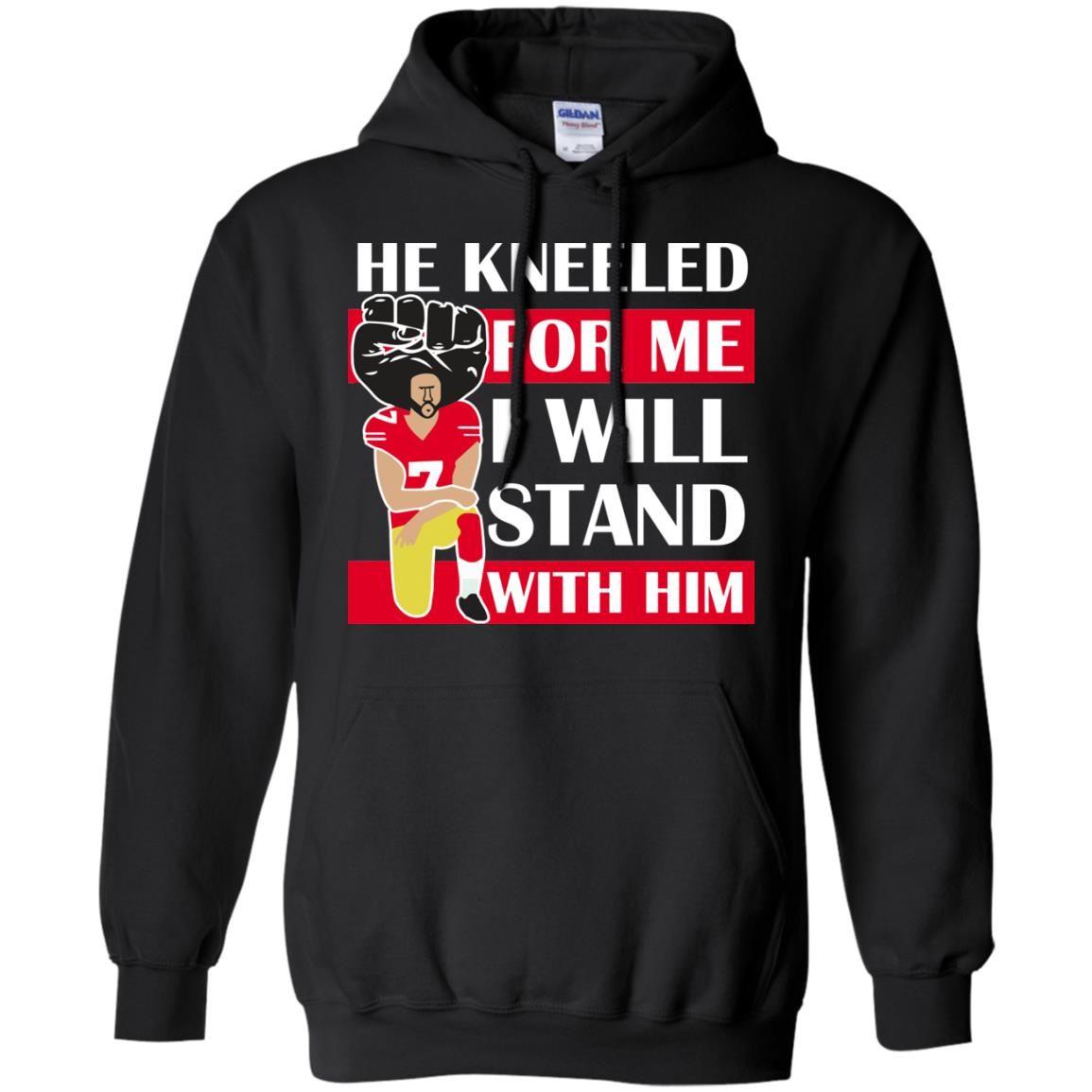 image 16 - Colin Kaepernick He Kneeled for me shirt