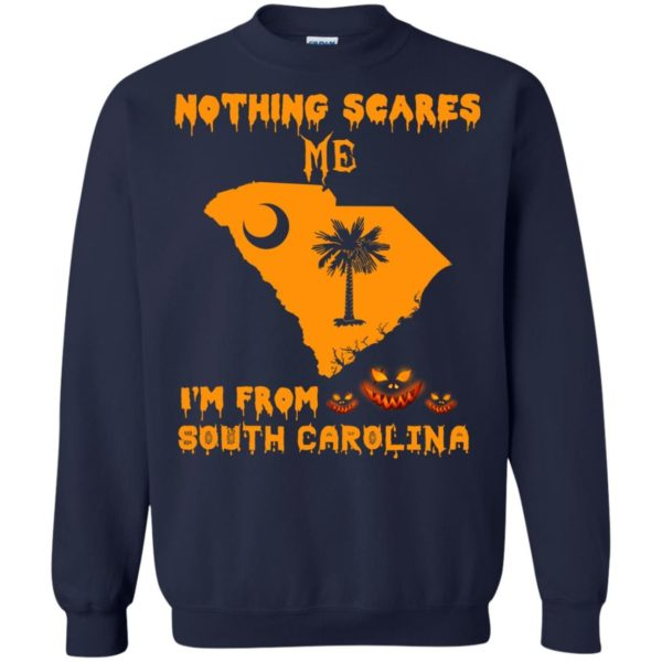 image 160 600x600 - Halloween: Nothing Scares Me I'm From South Carolina shirt, hoodie, tank