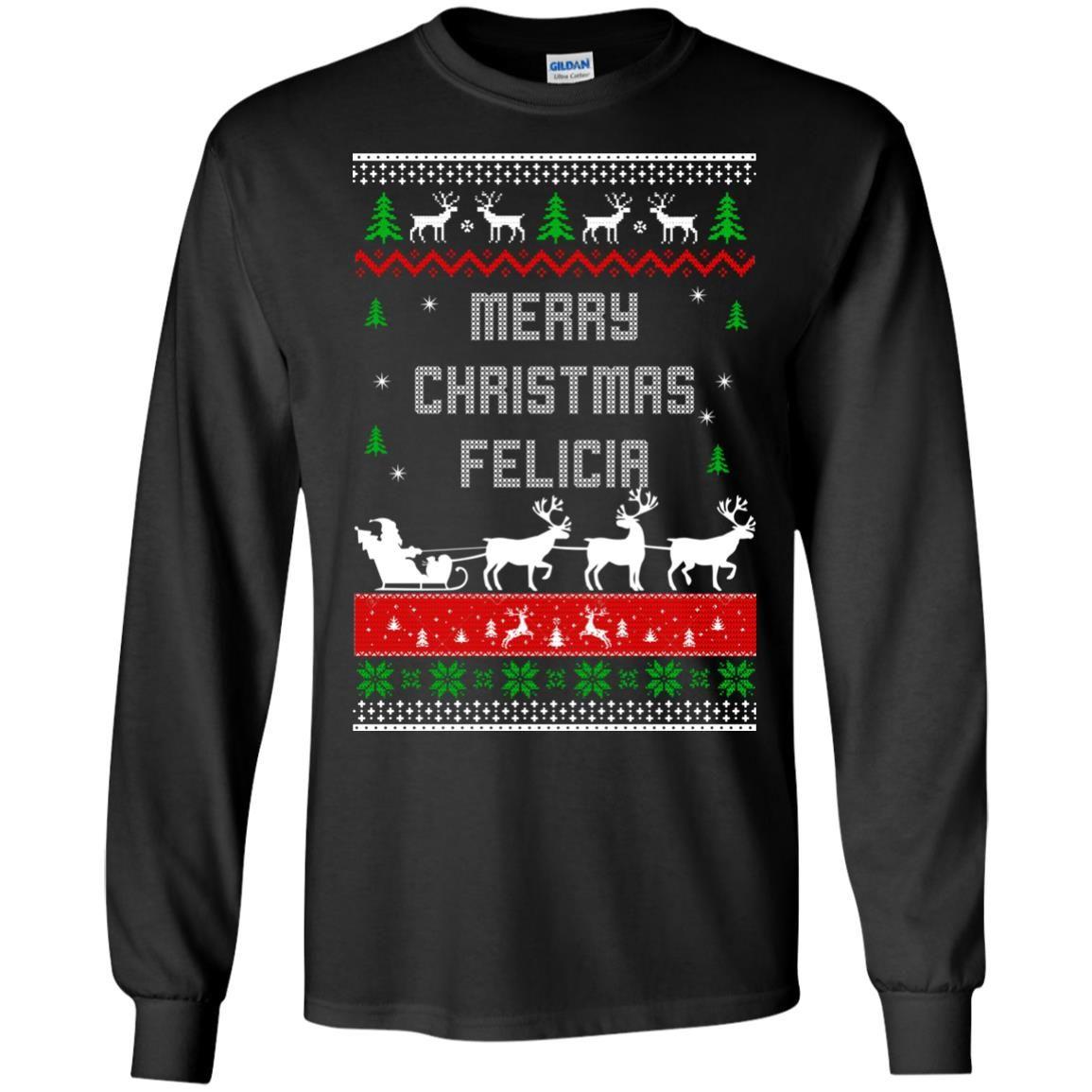 image 1671 - Raxo Merry Christmas Felicia ugly sweater, hoodie
