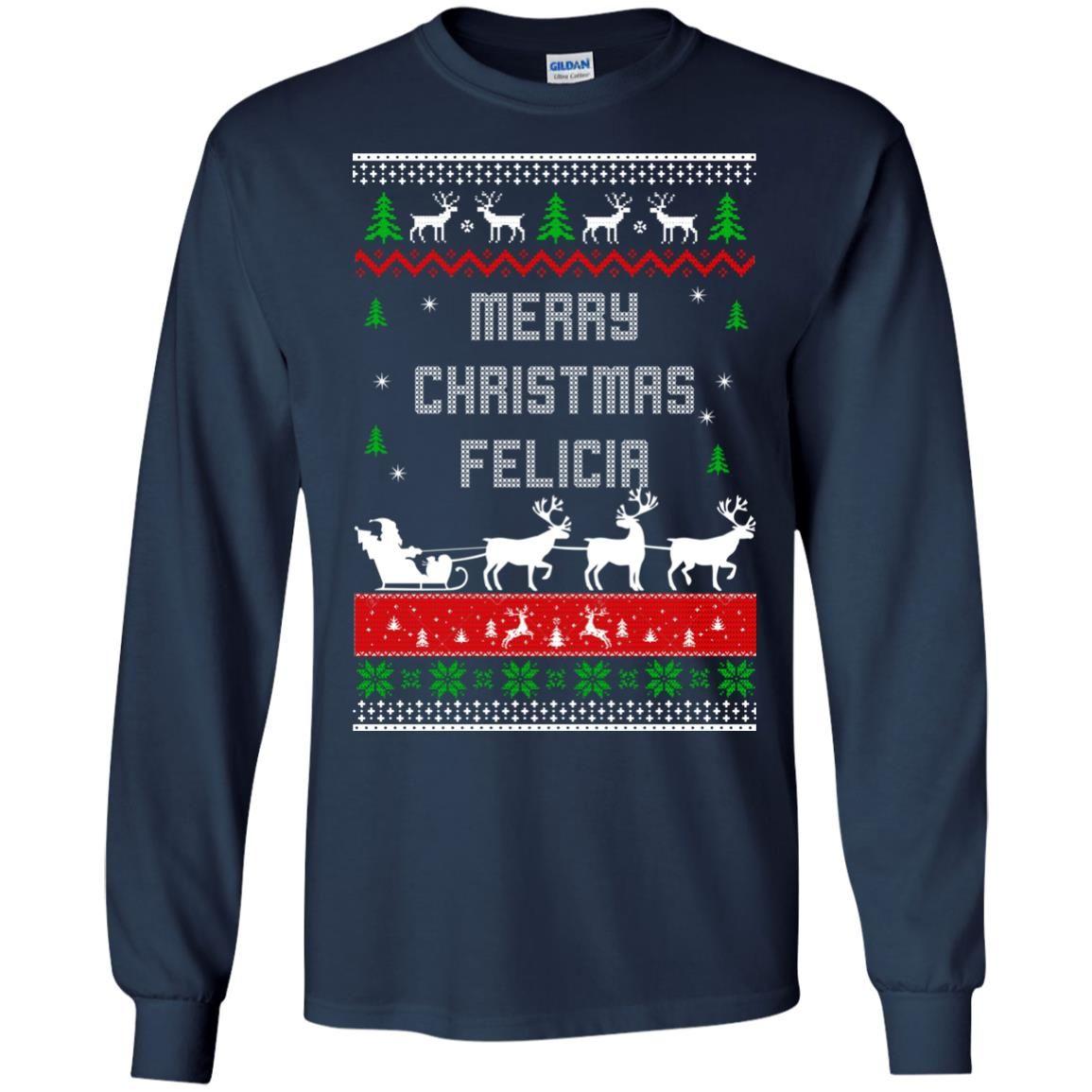 image 1672 - Raxo Merry Christmas Felicia ugly sweater, hoodie